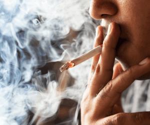 Staub und Rauch